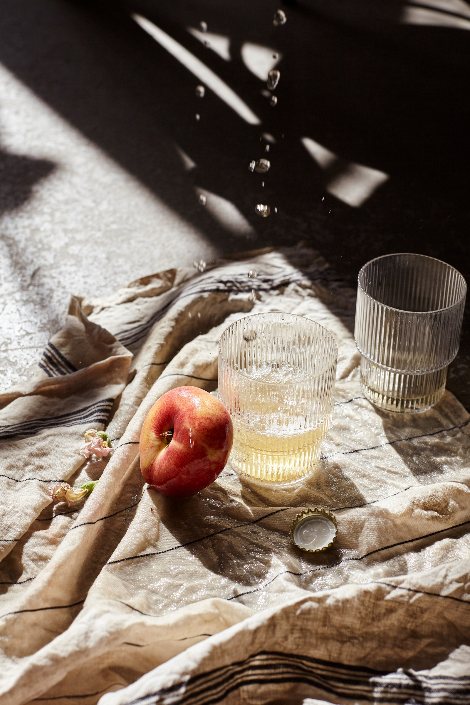 Ripple Glass (Set of 4) - Ferm Living