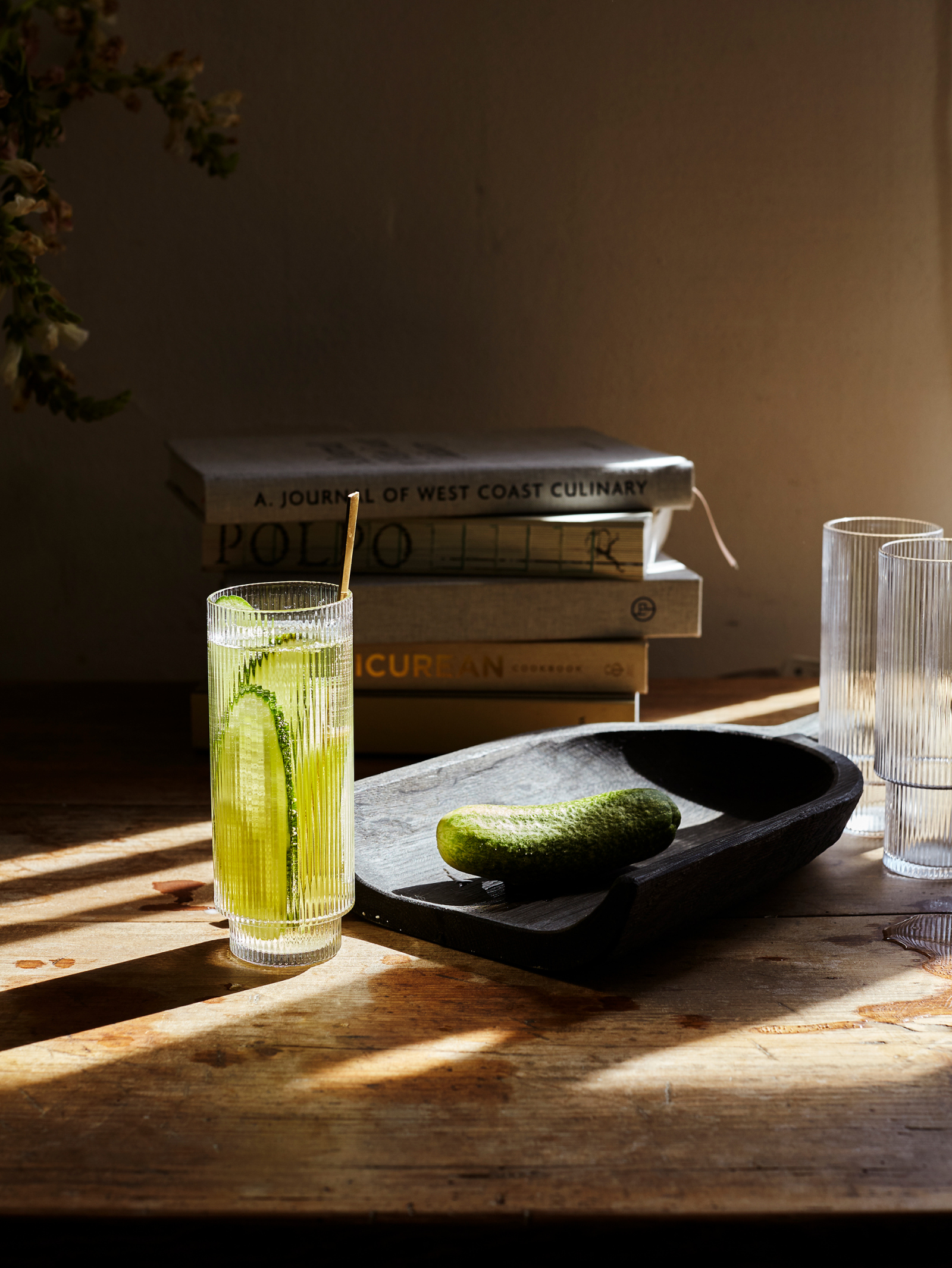 Ripple Long Drink Glasses (SET OF 4) - Ferm Living