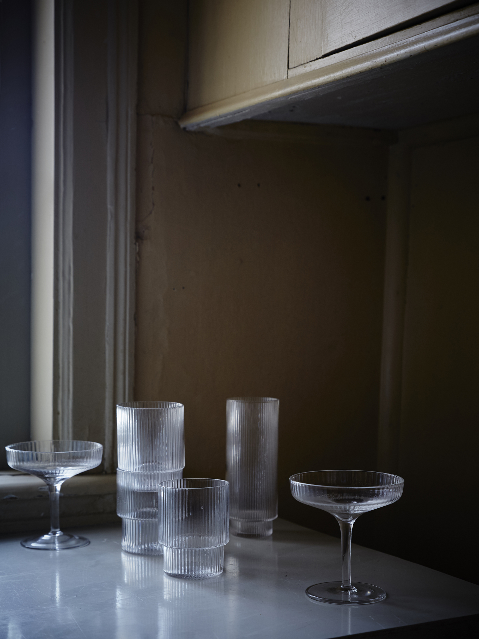 Ripple Glass Series - Ferm Living Från: 315 SEK