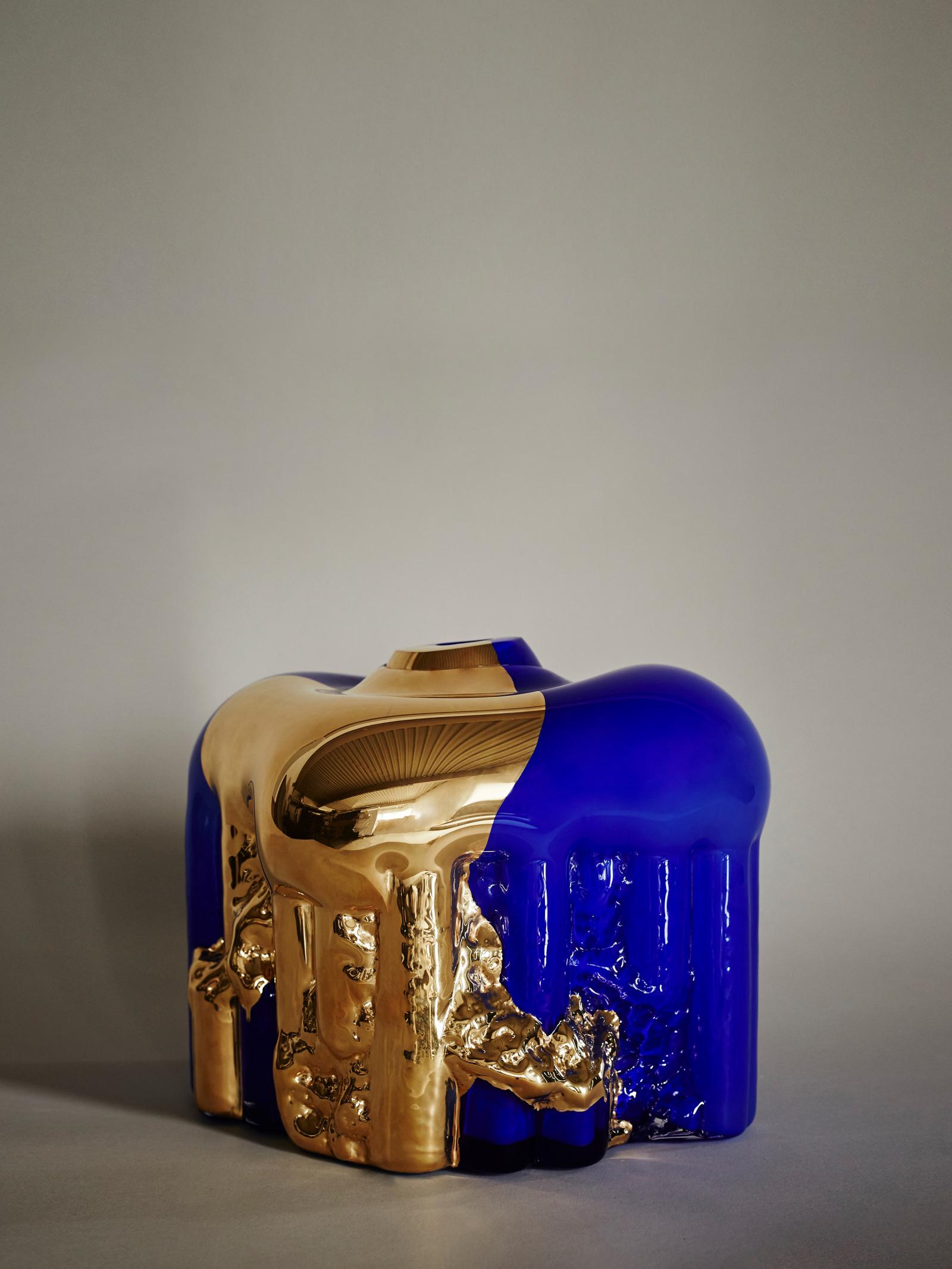 Golden Rain - Blue - Hanna Hansdotter 20 000 SEK