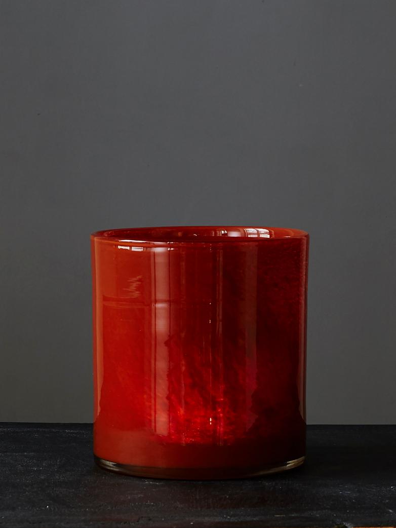 Candle Holder Brick Rust