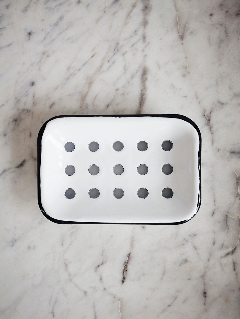 Enamel Soap Dish