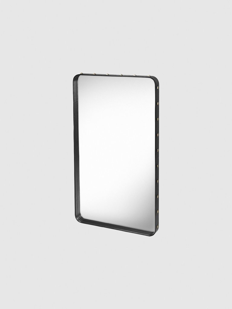 Adnet Rectangular Mirror Black - 65x115cm