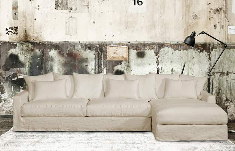 Belleville Sofa / Chaise Lounge