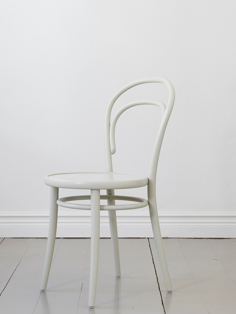 Chair No 14 – Pale Green – Wood