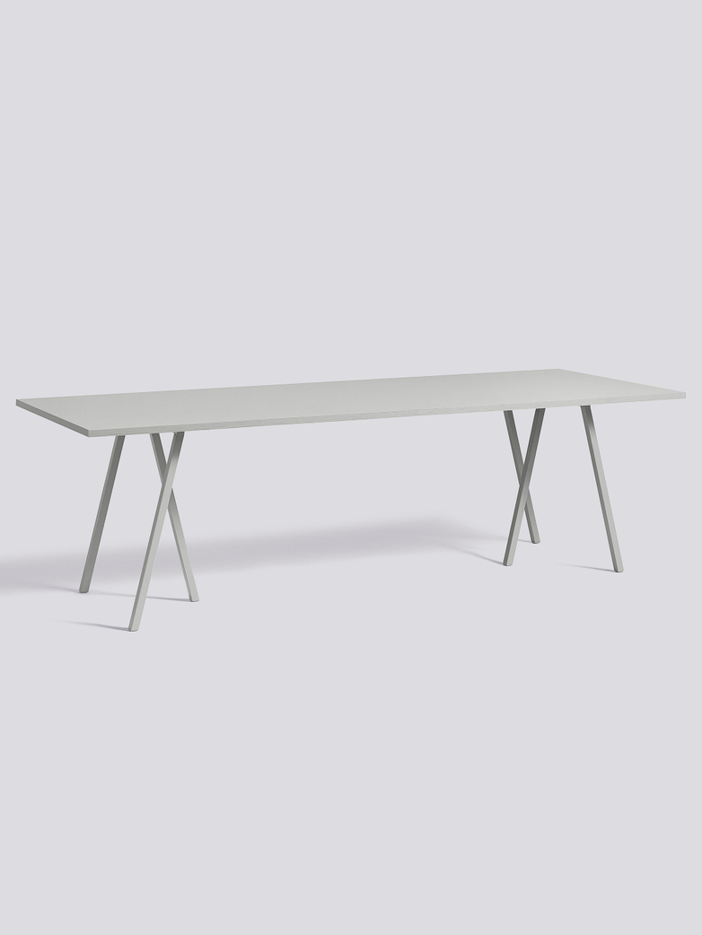 Loop Stand Table Grey