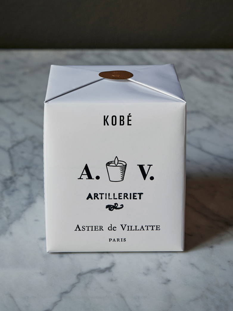 Scented Candle Kobe Artilleriet Edition