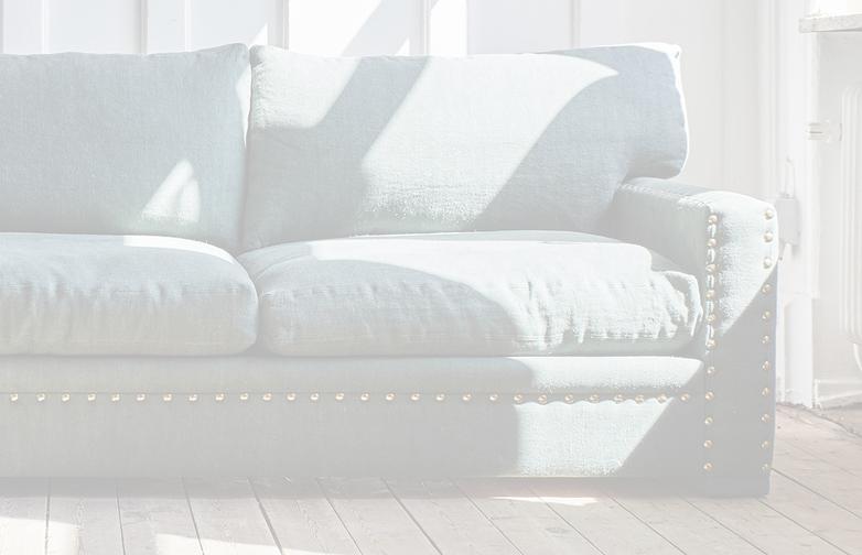 190 cm - Smooth Velvet Asier - Fixed cover