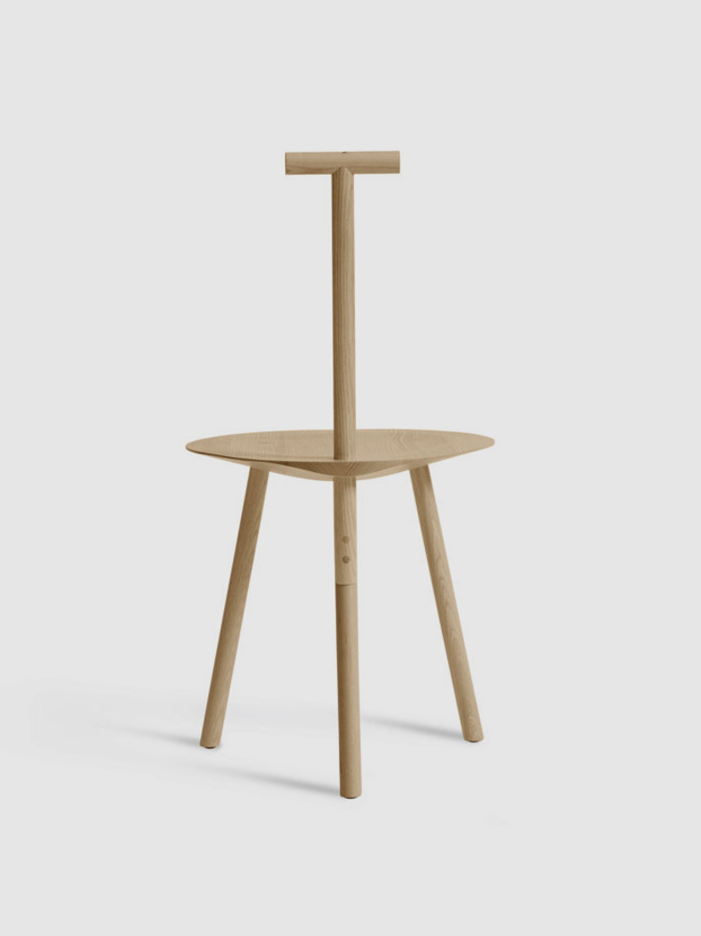 Spade chair - Natural Ash