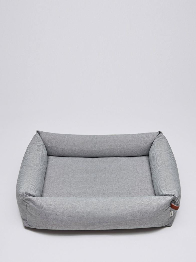 Dogbed Sleepy Deluxe - Tweed Grey