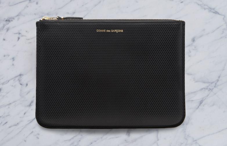 Luxury Pouch Wallet Black