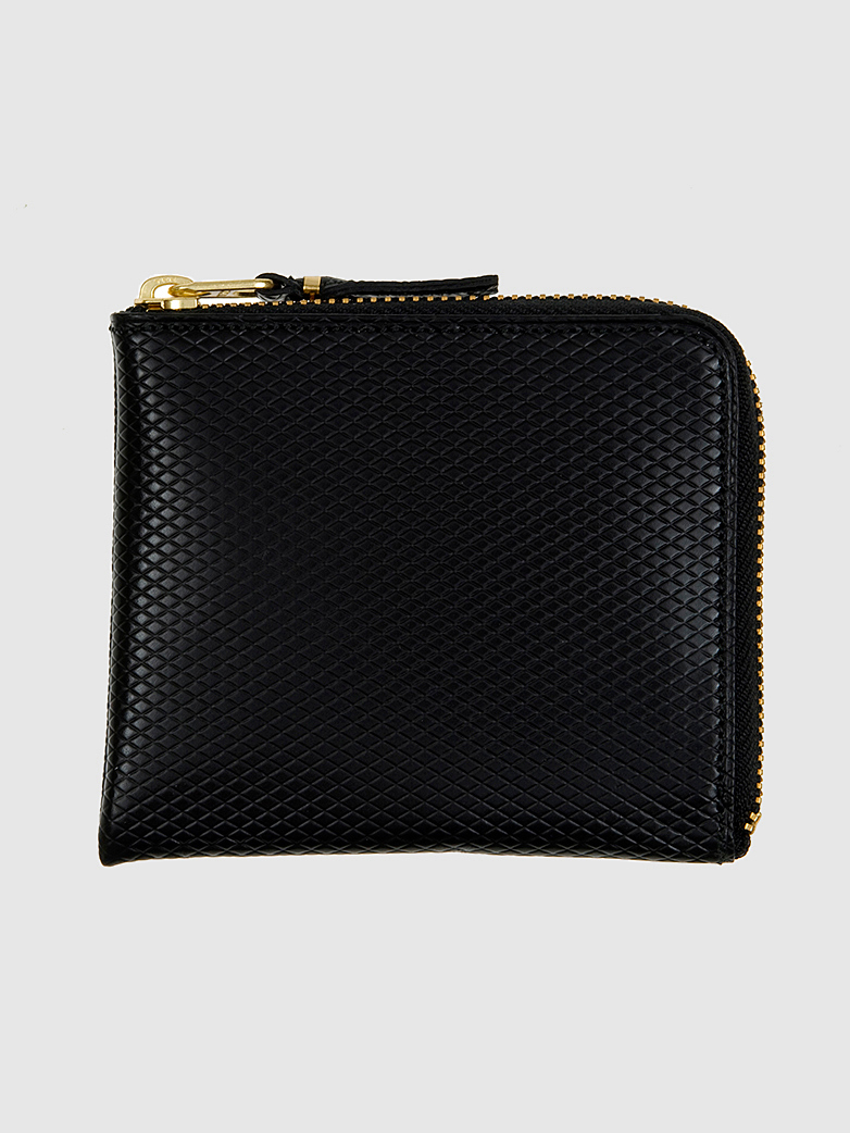Luxury Zip Wallet Black