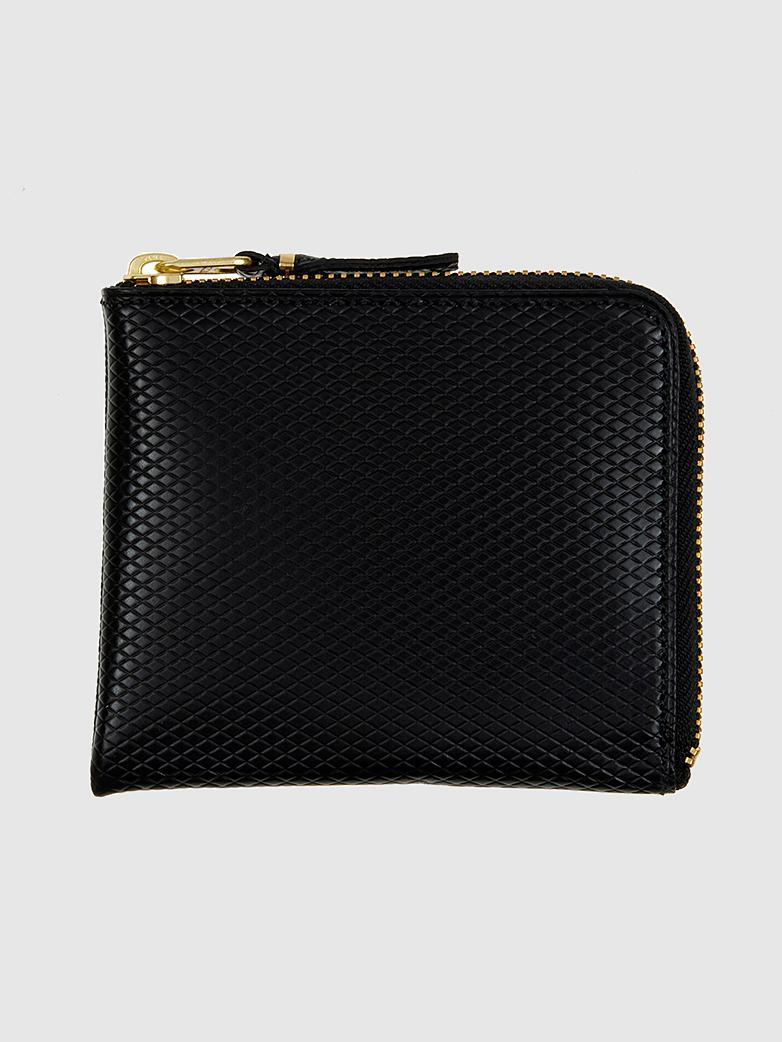 Luxury Zip Wallet Black