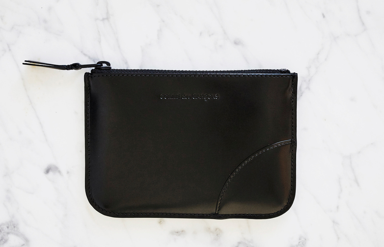 Very Black Pouch Wallet Small