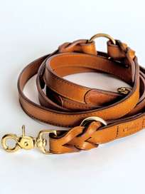 Hyde Park Leash - Cognac