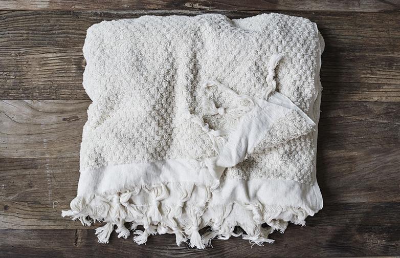 Fringe Dot Towel