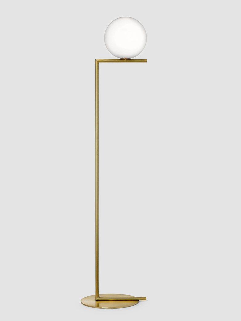 IC Lights Floor Lamp – Brass