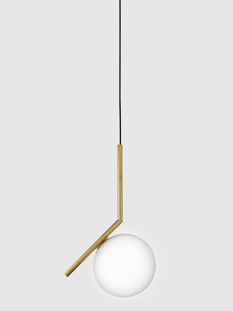 IC Lights Pendant – Brass