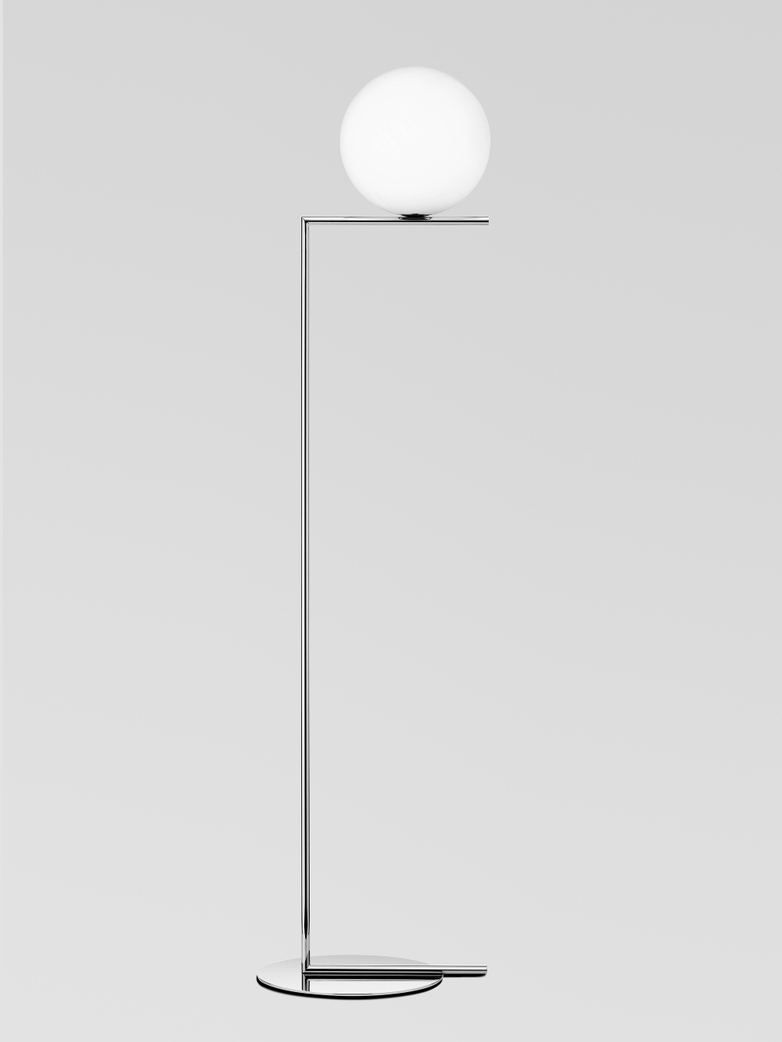IC Lights Floor Lamp – Chrome