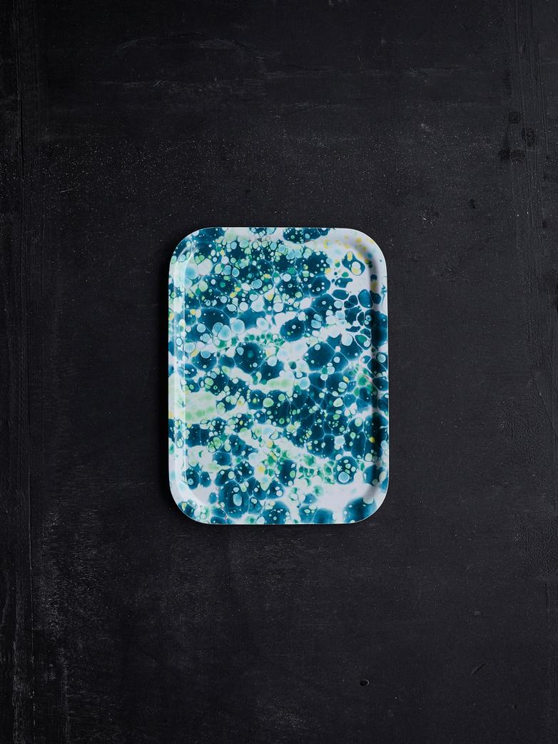 Aqua Breakfast Tray