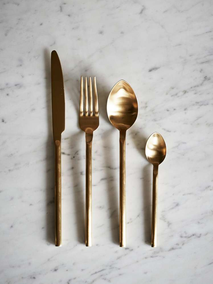 Desire Old Gold Cutlery