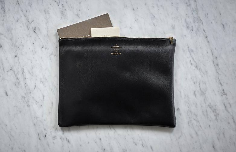 Delfonics Large Zip Case - Black