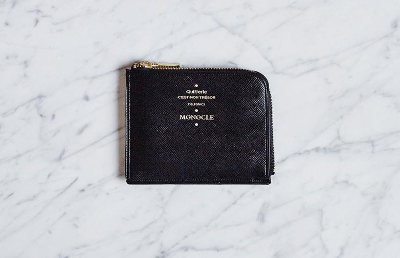 Delfonics Half Zip Wallet Black