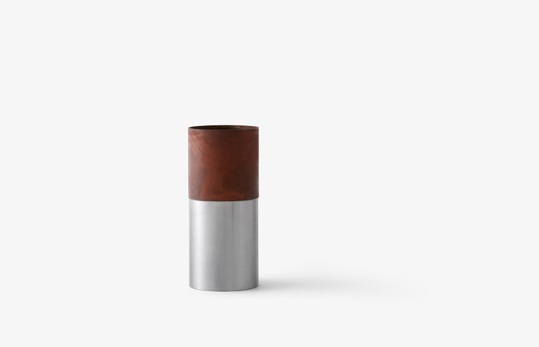 True Colour Vase Brown - Steel