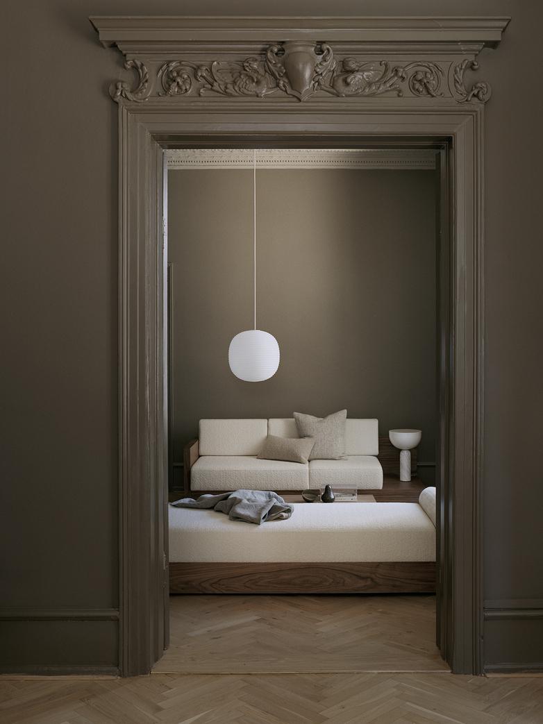 Kizu Table Lamp – White Marble – Large