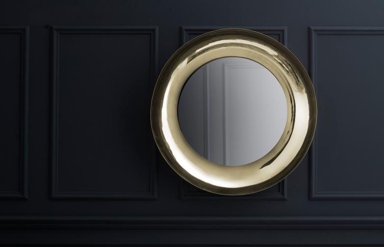 Brera Mirror Brass