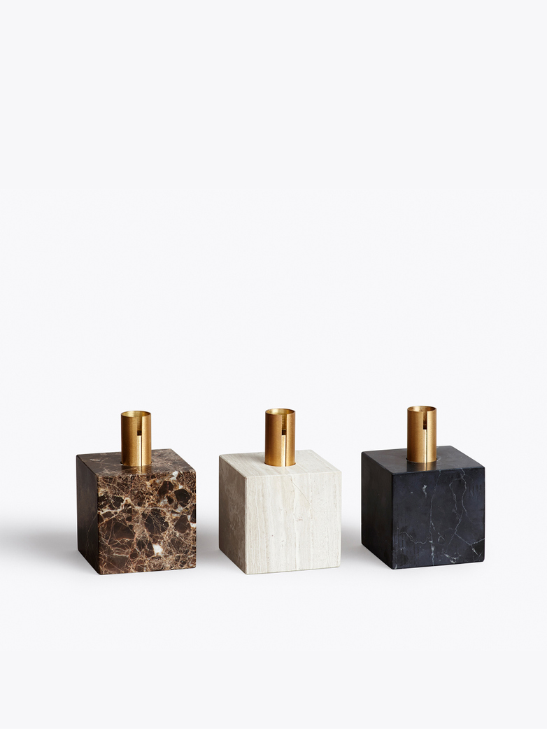 Block Candle Holder