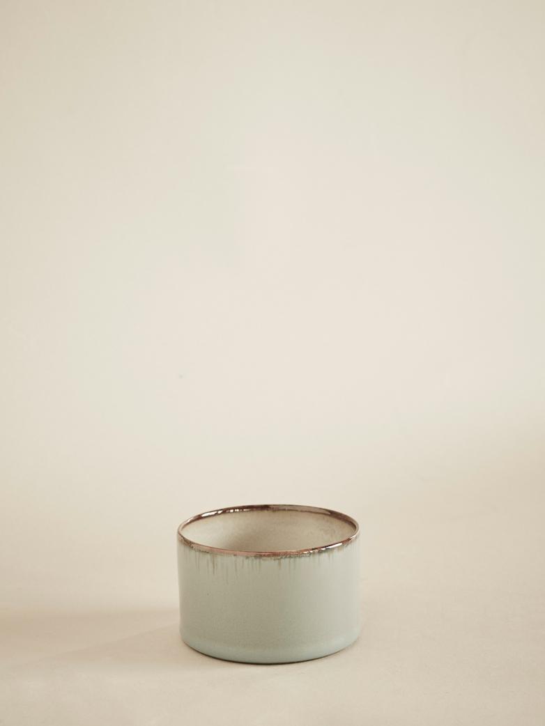 Goblet Cylinder Low - Smokey Blue