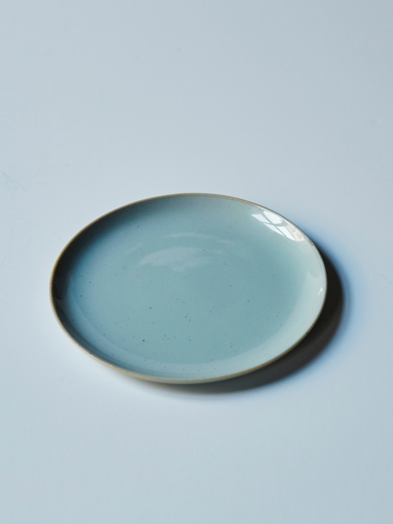 Plate Small Light Blue