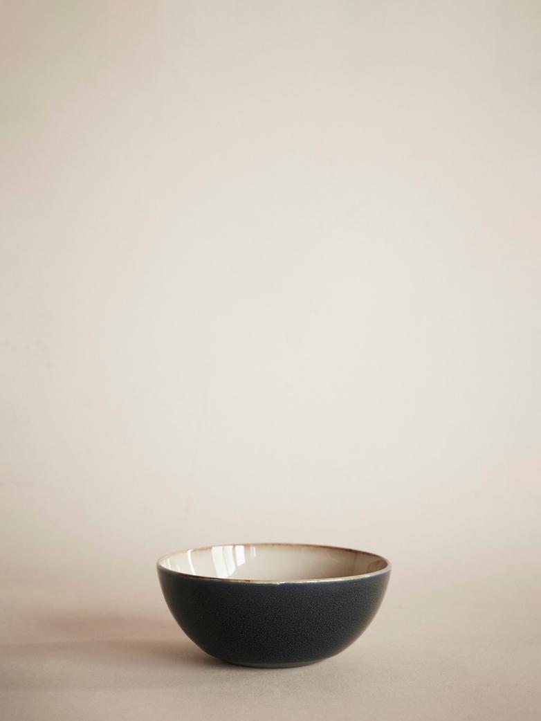 Terres de Rêves – Bowl – Small – Misty Grey/Dark Blue