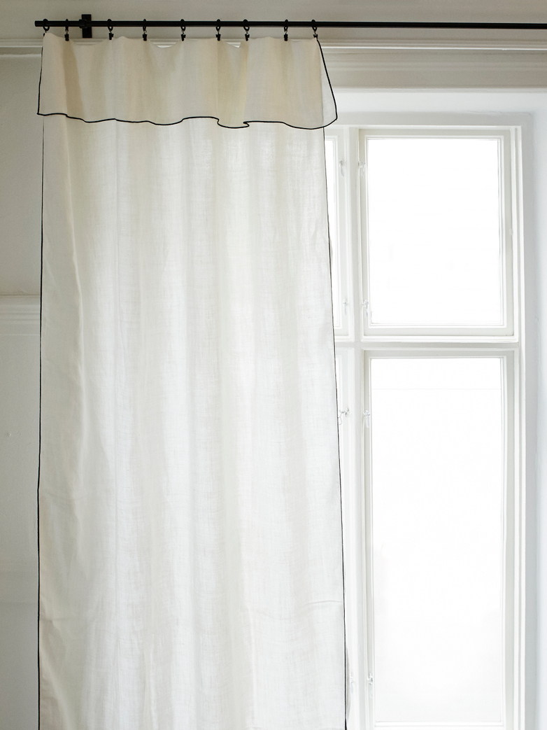 Maya Curtain Lin Sauvage Neige 3 M