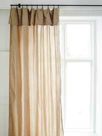 Selena Washed Linen Curtain Gazelle 180x290