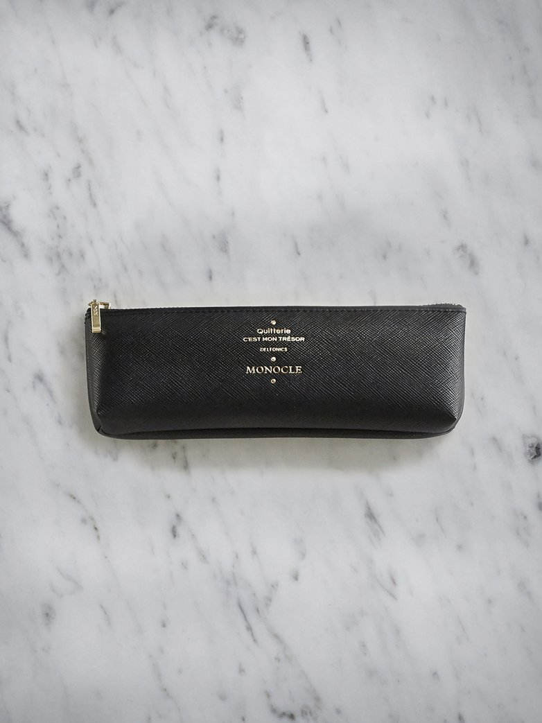Delfonics Pencil Case - Black