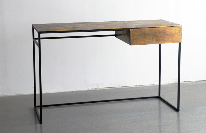 Brass Frame Desk