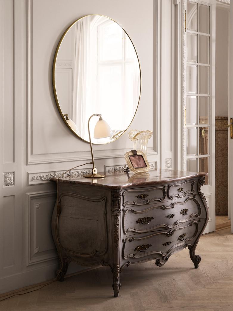 Mirror Round Ø110