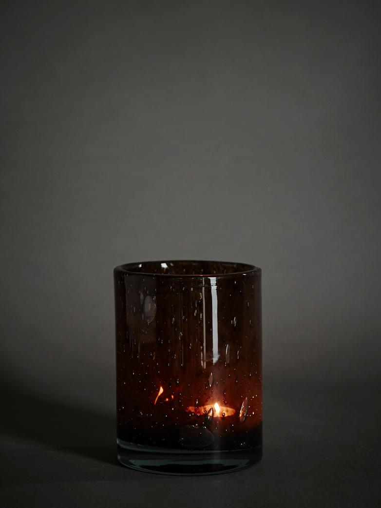 Belle Candle Holder – Brunette – Medium