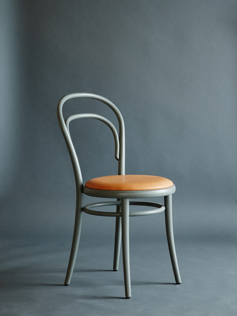 Artilleriet Edition Chair 14 Sage Tärnsjö Leather