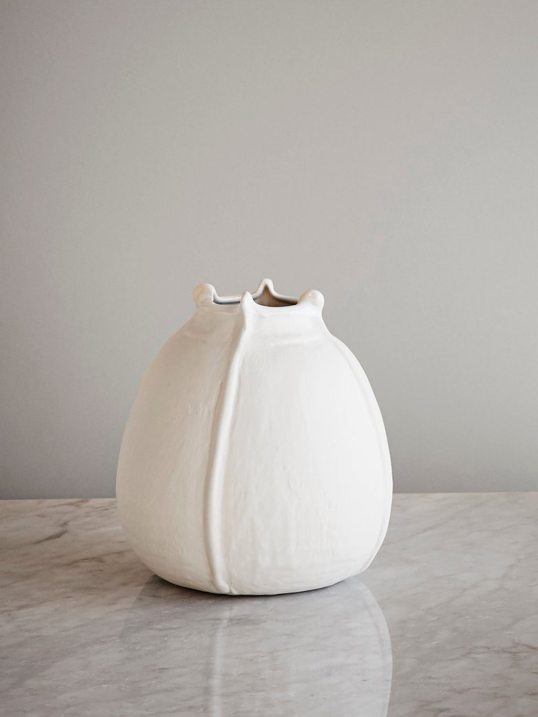 Vase Wabi Blanc