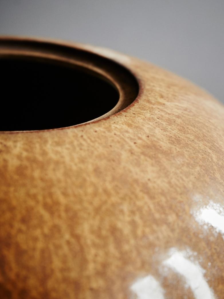 Ginger Pot Wood Effect