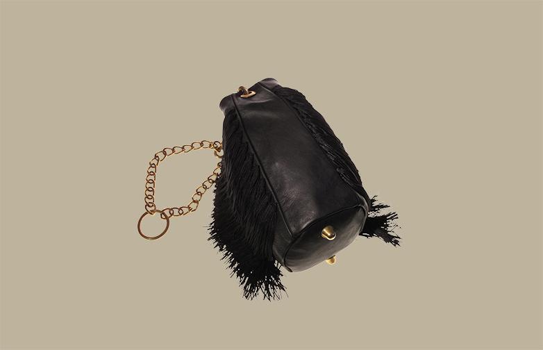 No 10 Fringe Shoulder Bag
