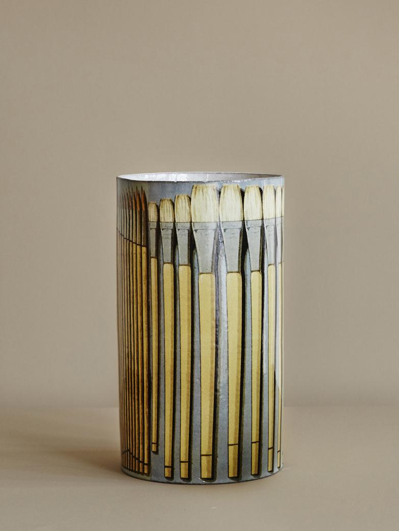 John Paintbrushes Vase