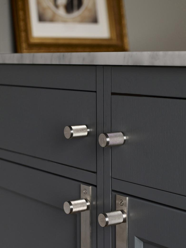 Furniture Knob Set of Two - Steel