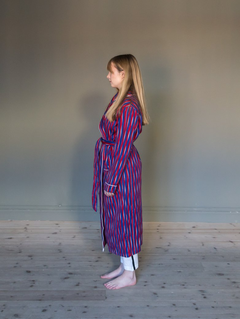 Deck Gown Thick Waves Blue/Red