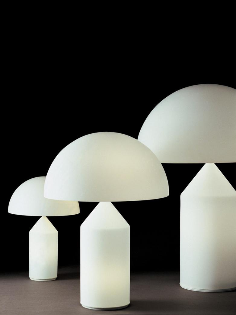 Atollo Table Lamp – Opal – Medium