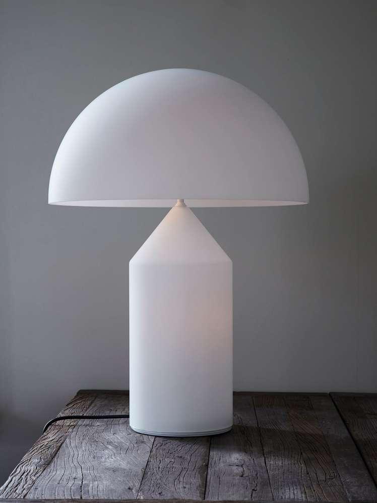 Atollo Table Lamp – Opal