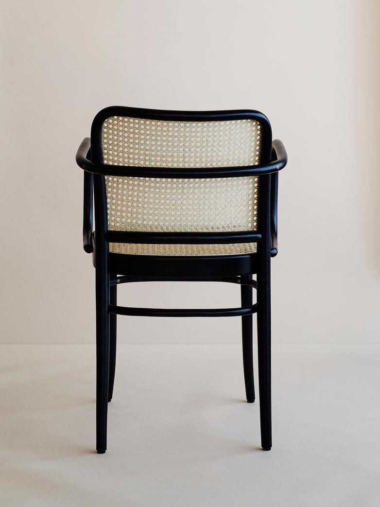 Armchair No 811 Black